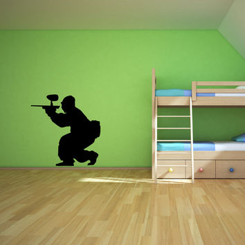 Paintball Wall Decal Sticker 7