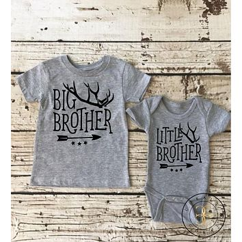 """Little & Big Bother"" Sibling T-shirts"