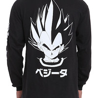 Dragon Ball Z Vegeta Long-Sleeved T-Shirt