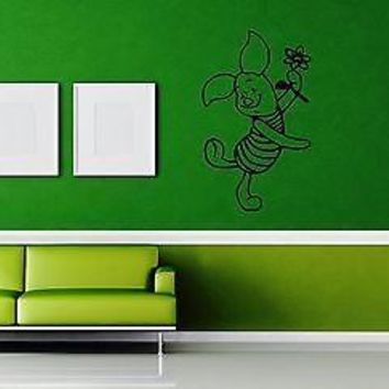Wall Stickers Vinyl Decal Kid Room Decor Winnie the Pooh Positive Unique Gift (ig1031)