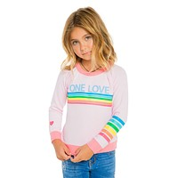 kids one love sweatshirt