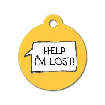 Help I'm Lost - Funny Pet Tags