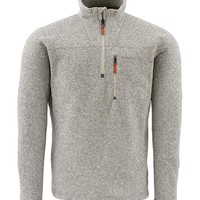Rivershed Sweater Quarter Zip - Simms Fishing Products