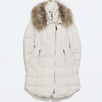 - Quilted coat - Outerwear - WOMAN - SALE | ZARA United States
