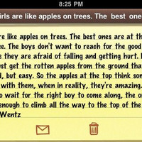 Girls are like apples on trees. The best ones are at the top...   Pete Wentz Picture Quotes   Quoteswave