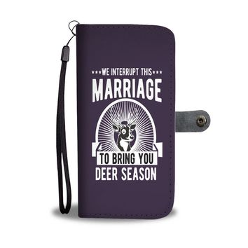 Custom Designed Marriage Wallet Phone Case