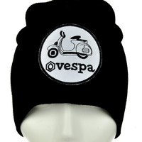 Vespa Scooter Beanie Alternative Clothing Knit Cap Howard Wolowitz