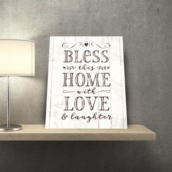 Bless This Home 11 x 14 Canvas Set (Free Shipping)