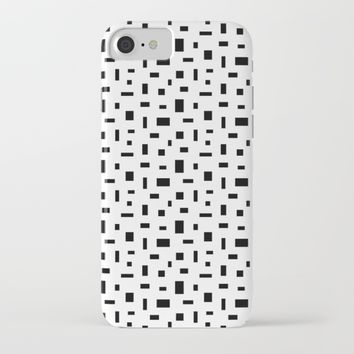 Pixel Pattern iPhone & iPod Case by New Wave Studio