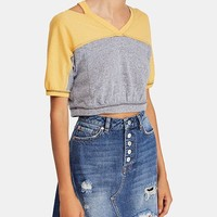 Free People Field Goal Cropped T-Shirt & Reviews - Tops - Women - Macy's