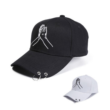 Hats Summer Men Korean Couple Ring Outdoors Casual Cap [9730957699]