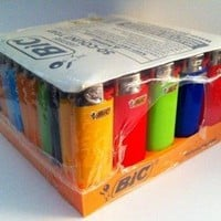 Bic Mini Lighters 50ct Assorted Colors, Best Selling Bic, Flick Your Bic!