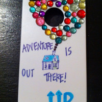 Iphone 4/4s bedazzled UP phone case
