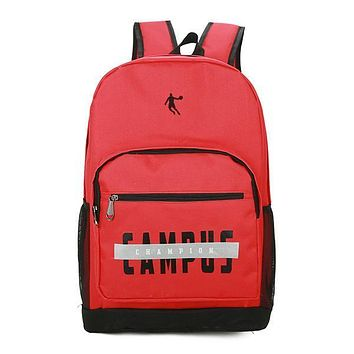 Jordan Woman Men Casual Fashion Backpack Bookbag Shoulder Bag