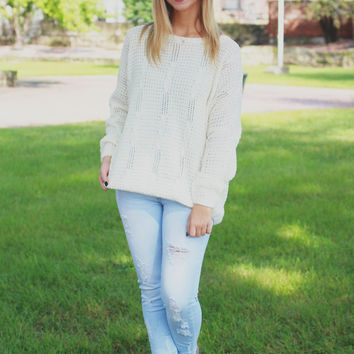 City Center Sweater - Ivory