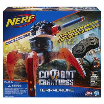 NERF N-Strike Combat Creatures Terradrone Attacknid Dart Shooter