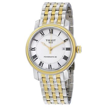 Tissot T-Classic Bridgeport Powermatic 80 Mens Watch T0974072203300