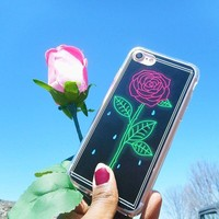 Crying Rose iPhone Case