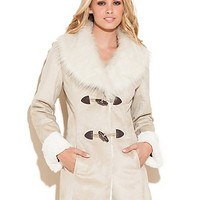 Natasha Coat at Guess