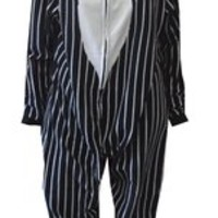 Nightmare Before Christmas Jack Skellington One Piece Footie Pajama for men