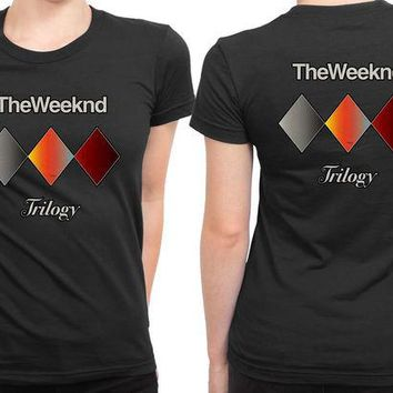 VONEED6 The Weeknd Trilogy 2 Sided Womens T Shirt