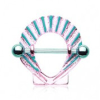 Colorline Ariel Seashell Nipple Shield Ring