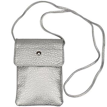 Small Crossbody Bag Pu Leather Mini Cell Phone Purse Wallet