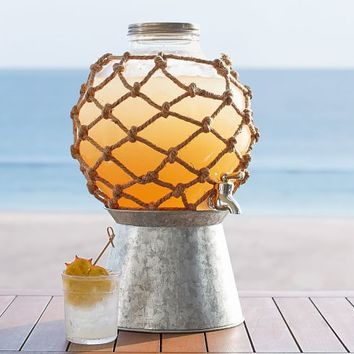 Rope Buoy Outdoor Drink Dispenser