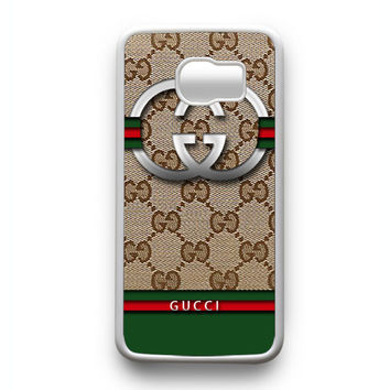 Gucci Logo Samsung Galaxy S6 Edge Case