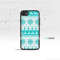 Blue Tribal Christmas Phone Case Cover for Apple iPhone iPod Samsung Galaxy S & Note