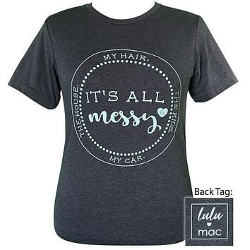 Girlie Girl Originals Lulu Mac Preppy It's All Messy T-Shirt