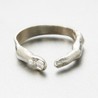 verameat | yogi ring in silver
