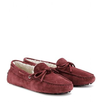 tod's - heaven new lacetto suede loafers