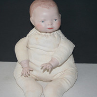 Collectible Vintage Bisque Doll Copywrite 1923, Collectible VIntage,Castawayacres