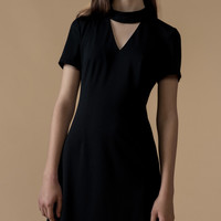 Collar Mini Dress