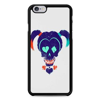 Harley Quinn Suicide Squad On White iPhone 6/6S Case