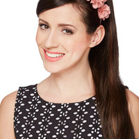 Blossoming Beauty Headband in Rose