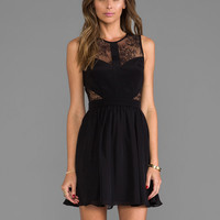 Jay Godfrey Royko Dress in Black