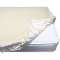 Naturepedic Organic Cotton Fitted  Crib Protector Pad - Non-Waterproof