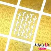 Whats Up Nails - Cactus Stencils