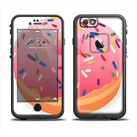 The Sprinkled 3d Donut Apple iPhone 6 LifeProof Fre Case Skin Set