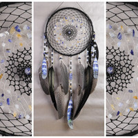 Dreamcatcher Blue Decor lapis lazuli Dream Catcher Large Dreamcatcher Dream сatcher dreamcatchers boho dreamcatchers wall decor handmade