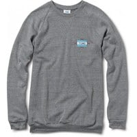 Women's Heather Grey Embroidered Crew  | TOMS.com
