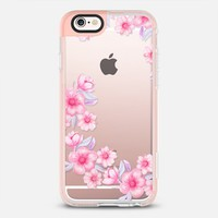 Pink watercolour flowers iPhone 6s case by Julia Grifol Diseñadora Modas-grafica | Casetify