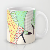 Shoes Mug by Ben Geiger