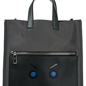 Fendi men's bag handbag tote shopping grey