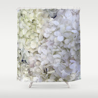 Hydrangea Shower Curtain by Awesome Palette