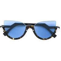 Fendi Cat Eye Sunglasses - Ottica Giulianelli - Farfetch.com