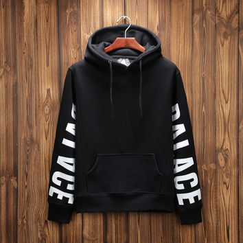 Pullover Print PALACE Long Sleeve Hoodies 3 Colors [9282215751]