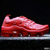 NIKE AIR VAPORMAX PLUS cushion comfort running shoes F-A0-HXYDXPF Red
